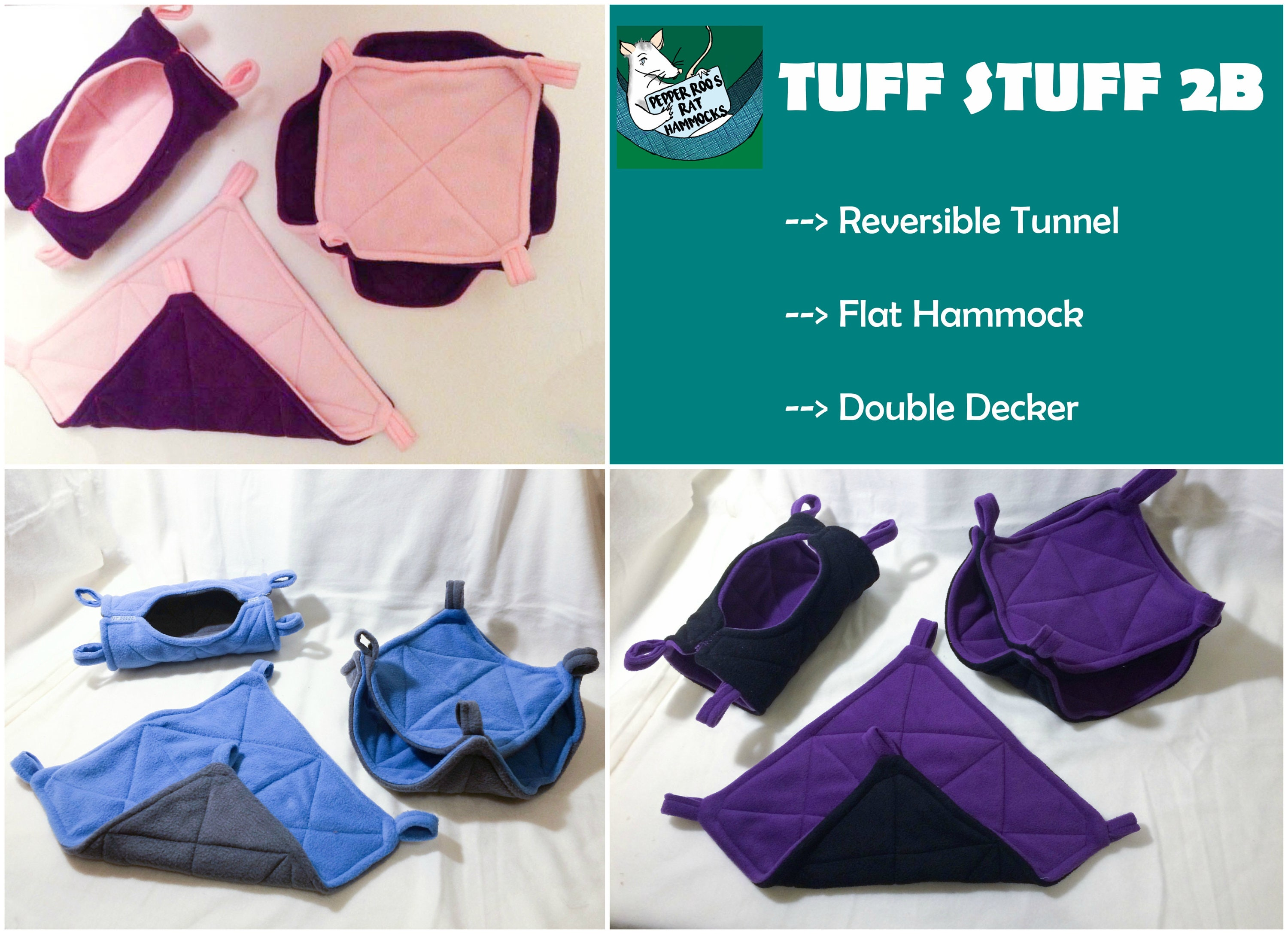 request a custom order and have something made just for you  custom made tuff stuff 2b rat hammocks set ferret sugar  rh   etsy