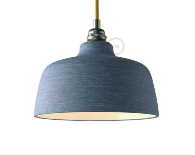 "Pendant light, ""ceramic pendant"", ceramic lampshade, Restaurant lighting, Bar lighting, minimalist lamp, Loft,"