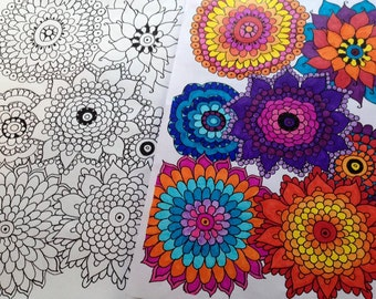 Overcoming FEAR Power Coloring Book by Hinarera Lambert (34 Pages)