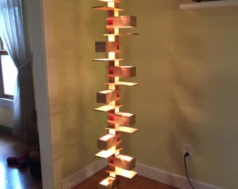 Handcrafted Mission Style, Frank Lloyd Wright replica lamp