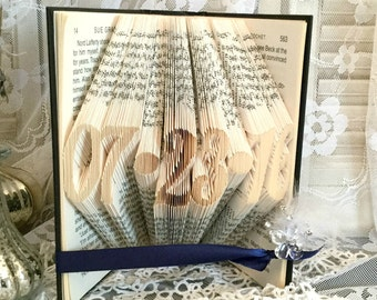 Wedding Date Anniversary Gift, Important Date Wedding Date, Wedding Date To Remember, Gift For Her Gift For Him