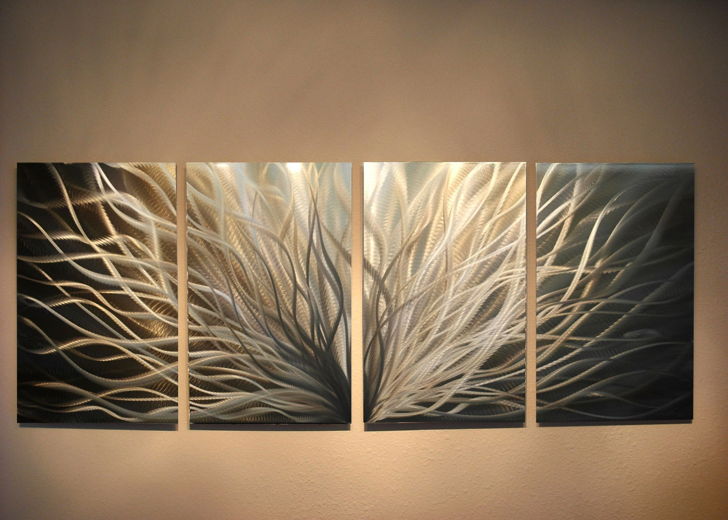 Metal Wall Art Decor Simple Metal Wall Art Modern Abstract Decormiles Shayinspiringart Design Decoration