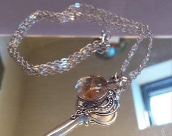 Orb and Key Pendant