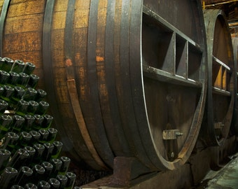 Wine Barrels (Art Prints available in multiple sizes)