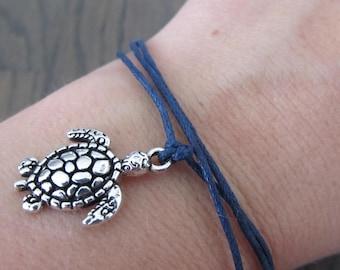 Make A wish bracelet sea turtle