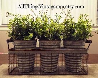 Large Greenery Arrangement,rustic Centerpiece,rustic Table Decor,farmhouse  Decor,greenery In