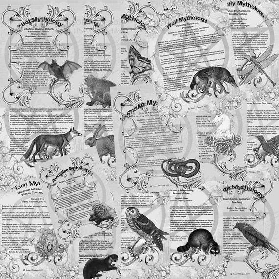 Animal Mythology, 20 Pages Complete Set