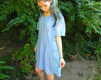 90s Periwinkle DressBarn Dress
