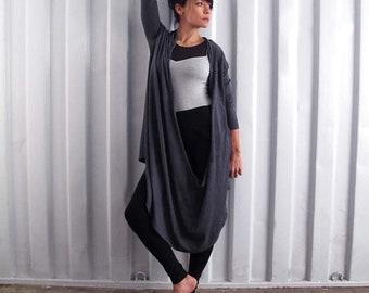 Longsleeve twist wrap cardigan - wrap top - longsleeve yoga top - dance wear - workout clothes - outdoor wear.