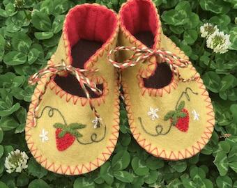 Strawberry Fields Booties