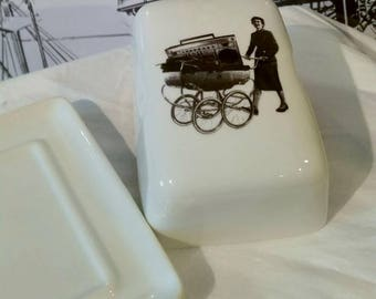 PramBlaster Butter Dish