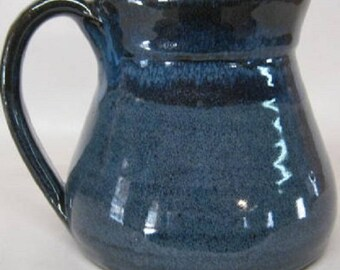 Handmade Pottery Mug 16 Ounces, Large cofffee cup, fits Keurig