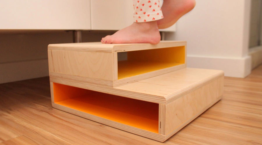 Stepup A Modern Step Stool For Kids
