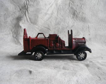 Cast Iron Fire Engine