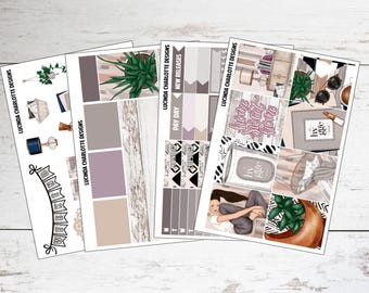 Home Sweet Home | Mini Planner Sticker Kit