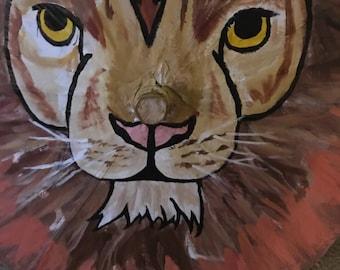 Shady Lion