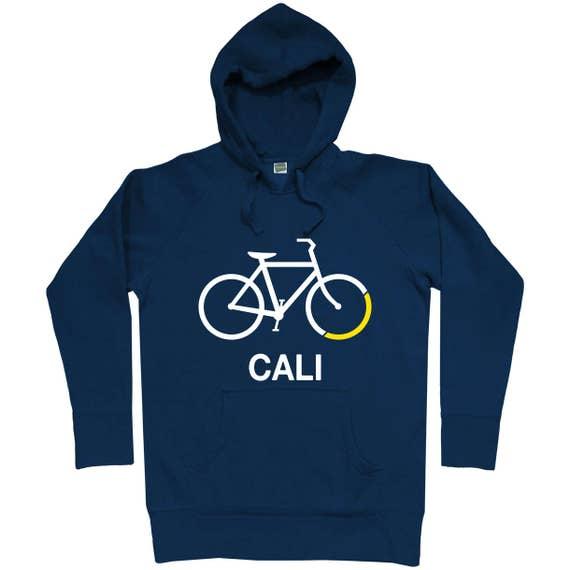 Bike California Hoodie - Men S M L XL 2x 3x - Hoody, Sweatshirt, Bicycle Hoodie, Cycling Hoodie, Cali Hoodie, Bike Hoodie, Bike Cali Hoodie