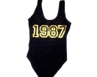 Our Year Custom Swim Suit