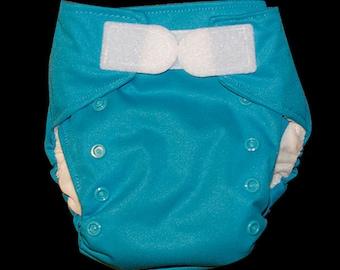 Turquoise AIO Cloth Diaper