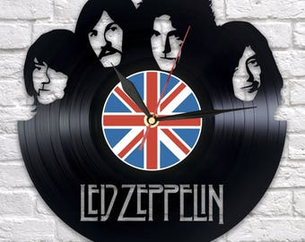 Led Zeppelin - Vinyl - Wall clock - Music