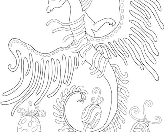 d.mae designs dragon