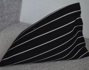 iPhone Beanie / Samsung Stand / Android Pillow / Smart Phone Cover - Black Pinstripe