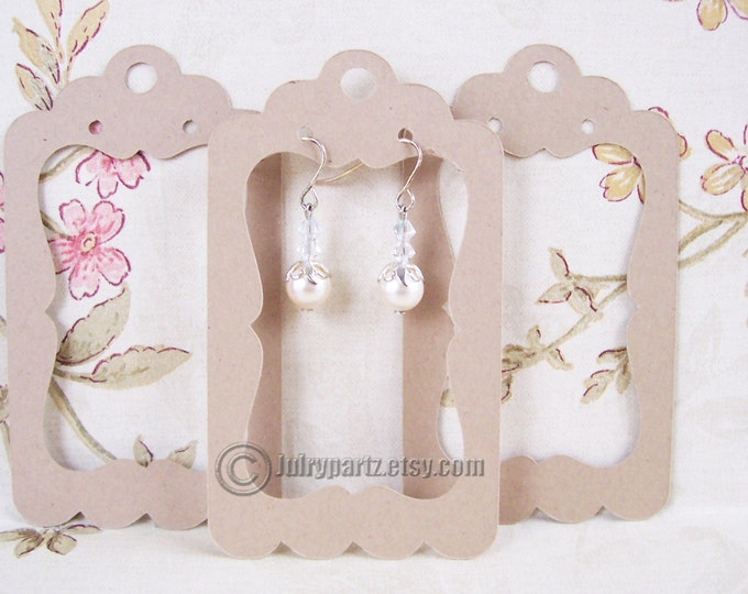 64•LOLITA•Window 2 x 3.5 inch•EARRING CARDS•Jewelry Cards•Earring Display•Earring Card•Earring Holder
