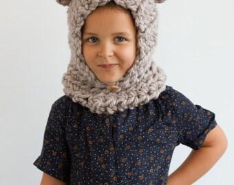 Kid's Cozy Bear Hoodie