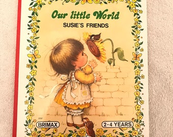 Vintage Our Little World Book
