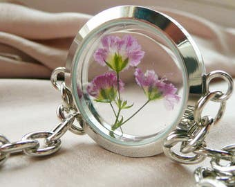Baby Breath Flower  Bracelet