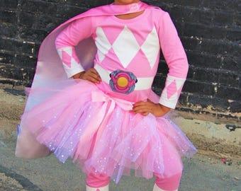 Pink Power Ranger Girl  sc 1 st  Etsy & Power Rangers inspired mask