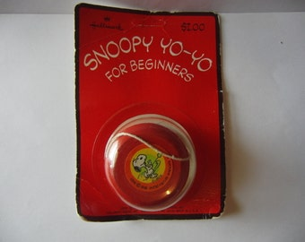 Vintage 1958 Hallmark Beginners Yo Yo