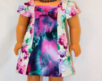 18 Inch Doll Clothing - Spring into Summer Dress