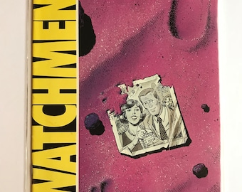 Watchman #4 (First Print, 1986, VF/NM, Alan Moore)