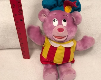 Vintage Disney's The Gummi Bears Fisher Price Stuffed Bear Toy