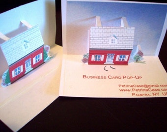 Pop-Up Business Card 25 for 18.00 ITEM 8850