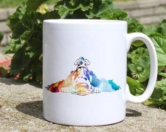 Cute dog mug - Dog mug - Colorful printed mug - Tee mug - Coffee Mug - Gift Idea
