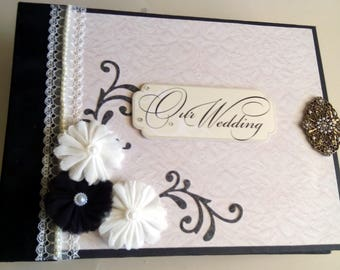Wedding Mini Album, Photo Album, Interactive Album, Scrapbook Album, Memories Album, Wedding Album