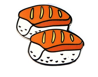 Sushi Emoji – Enamel Pin for your Life