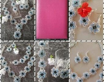 "Bridal Jewelry/Pearl jewelry ""Model Juliana"""