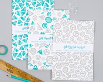 Geometric Notebooks
