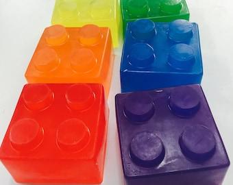 Large Brick Soap Kids Novelty Soap
