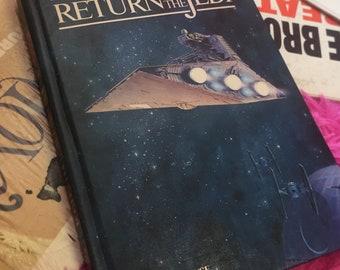 1983 Star Wars Return of the Jedi pop up book