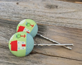 Forever Home bobby pin set, hairpins, bobby pins, new home, homebuyer, welcome home, gift, house