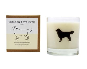 Golden Retriever Soy Candle Soy Candle Hostess Gift Dog Candle Golden Retriever Rescue Gift Candle The Original Scripted Fragrance Candle