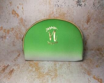 Monogrammed Makeup Bag, Bridesmaid Cosmetic Bag, Makeup Bags