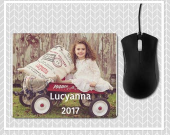 Custom Mouse Pad , Photo Mouse Pad , Personalized Mouse Pad , Granndparent Mouse Pad , Design Your Own Mousepad