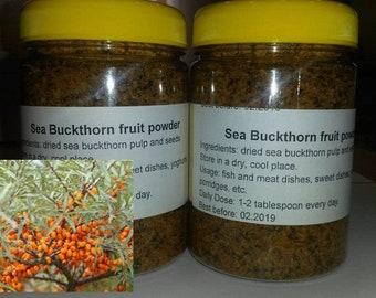 100% Natural, healthy Sea Buckthorn (Sanddorn) fruit powder (Goldberry powder), 4,23oz (120gr), handmade