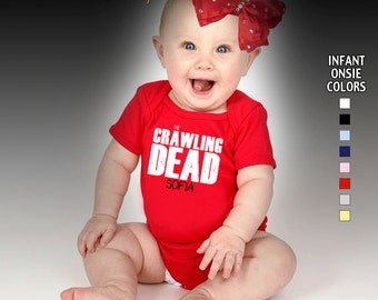 The Crawling Dead Bodysuit - Girls - Personalized with Name