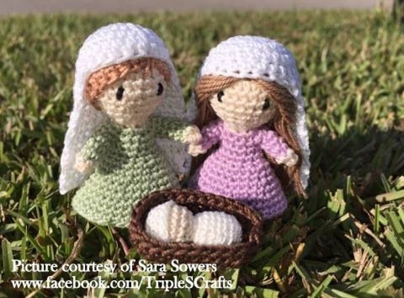 Free Amigurumi Nativity Pattern : Pattern nativity pattern crochet pattern amigurumi